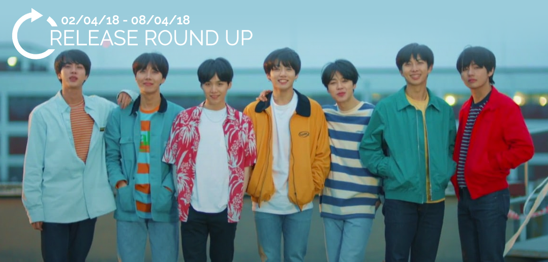 Release Round Up, K-Pop, BTS, Bangtan Boys, TVXQ, CLC,