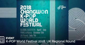 2018, Changwon K-Pop, KCCUK, London