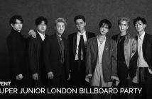 Super Junior, Event, London. Billboard, Party