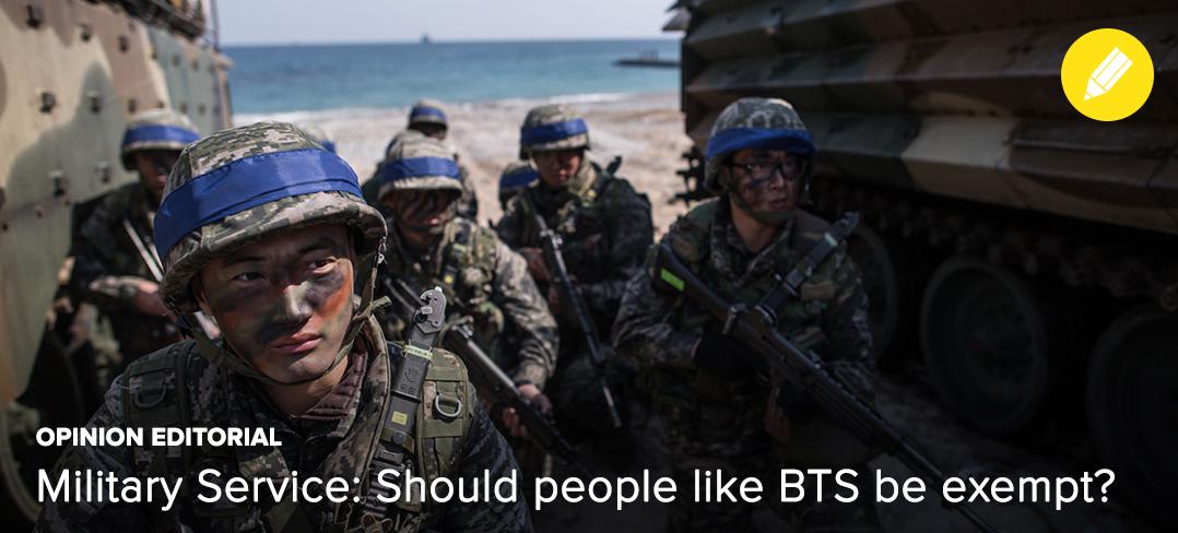 OP-ED] Military Service - Should people like BTS be exempt? — UnitedKpop