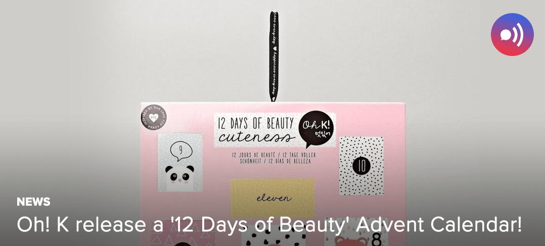 Oh!K, Advent Calendar, Cosmetics, South Korea