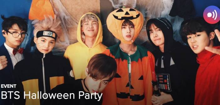 [EVENT] BTS Halloween Party