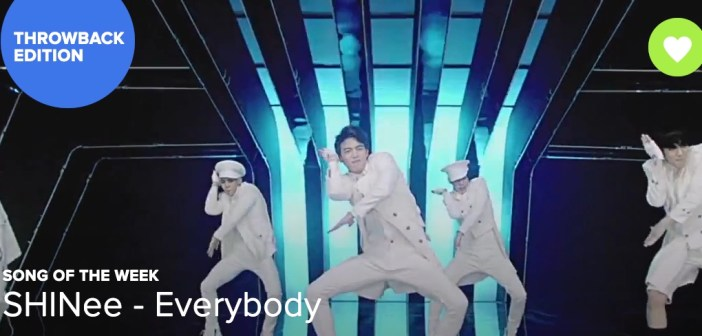 [Song of the Week] SHINee – Everybody