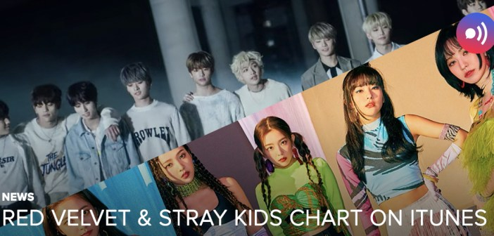 [NEWS] Red Velvet and Stray Kids chart on iTunes