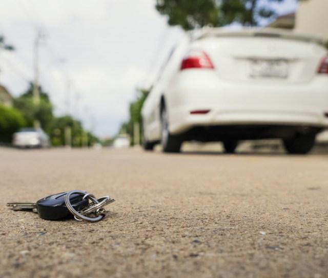 Car Keys Left On Street