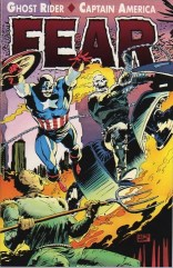 Halloween Scene: Ghost Rider/Captain America FEAR (1992)