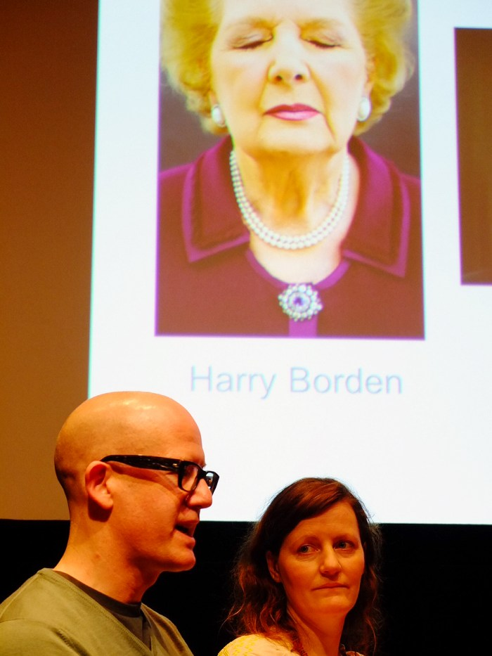 Above: Harry Borden and Laura Hynd.