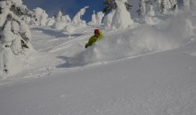 Pow Carve Big White