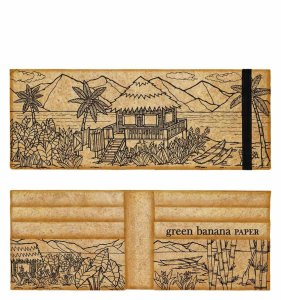 Castaway Men's Wallet by Green Banana Paper