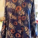 Custom jacket from imported batik print