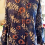 Custom jacket from imported batik print