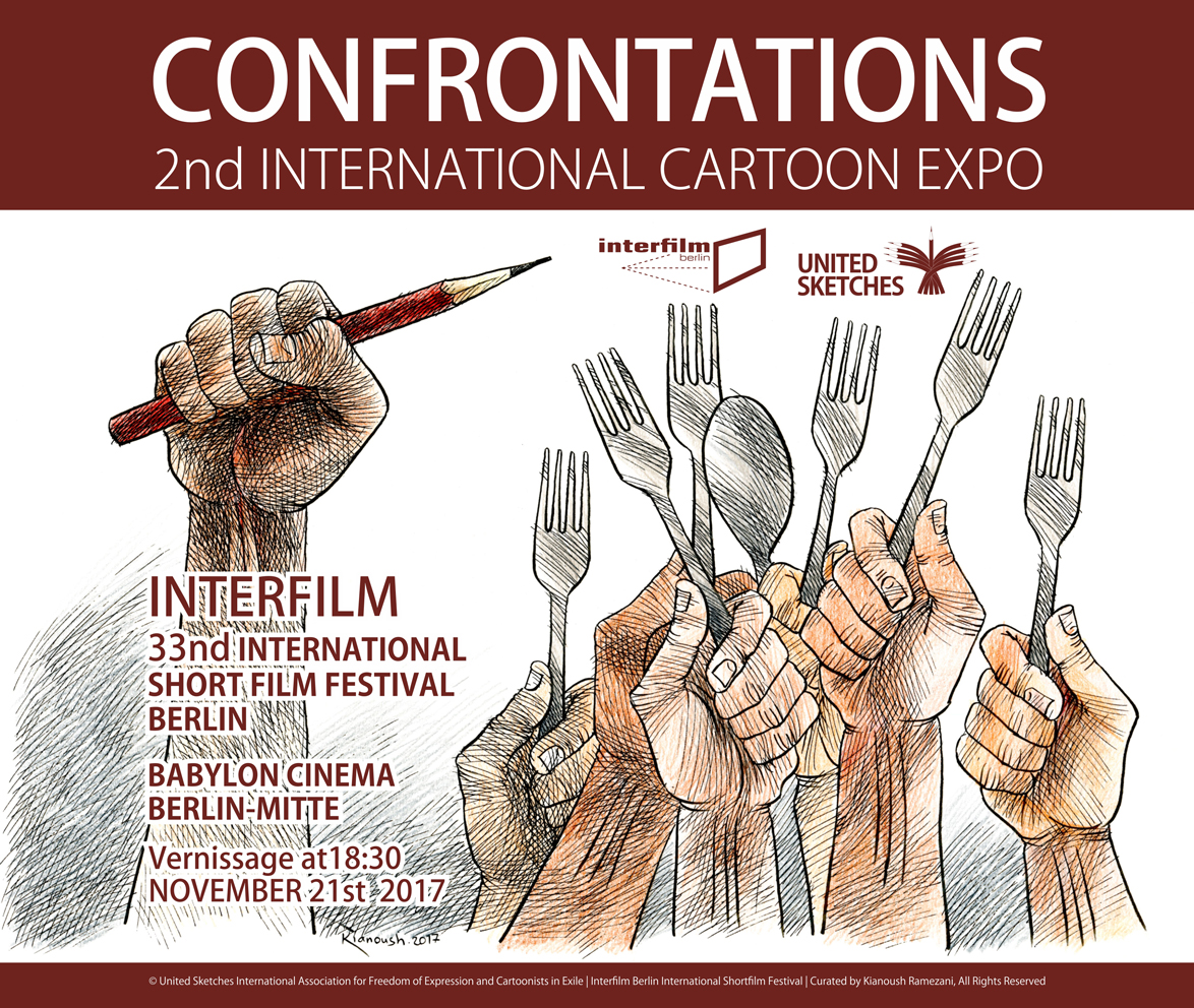 Confrontations 2nd International Cartoon Expo in Berlin