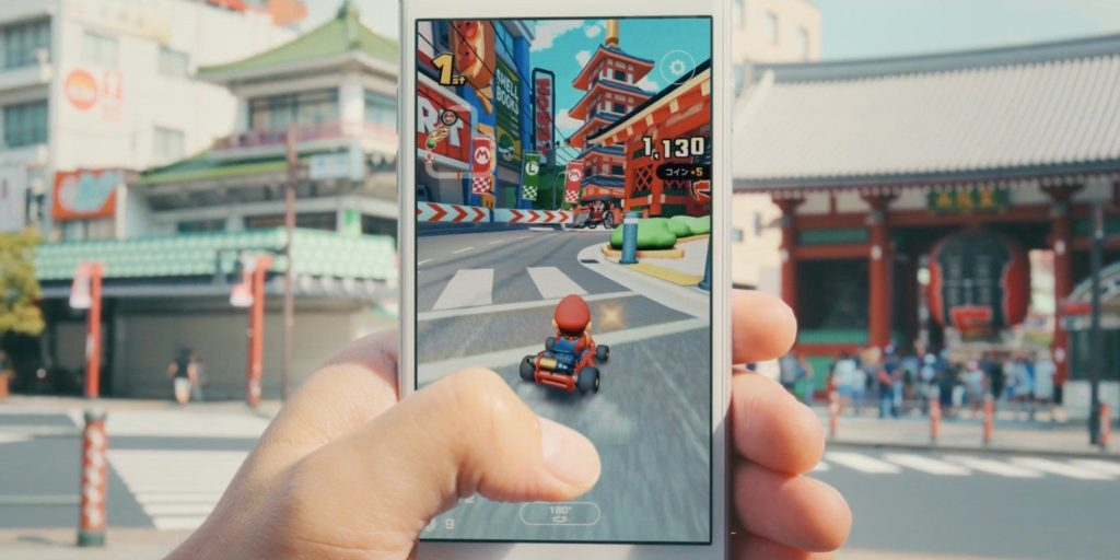 Mario Kart Tour is available on smartphones everywhere.