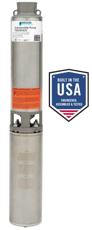GS Pump 525 Range (12 to 5 HP) Standard Capacity  Xylem Applied Water Systems  United States