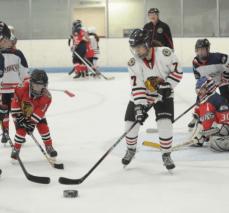 Chicago Blackhawks Blind Hockey
