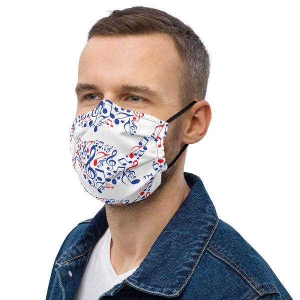 United Symphonies of America! face mask
