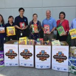 Johnson and Johnson Food Drive