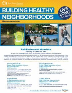 Blue Zones Workshops