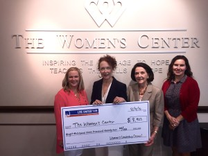 WLC Women's Center 2016 Check Presentation-392x304