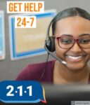 Get help by calling 211