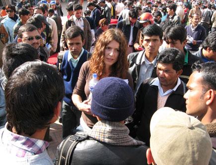 international volunteers day in kathmandu nepal