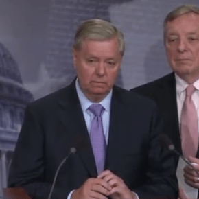 Lindsey Graham warns GOP of 'moment of reckoning' if they don't help undocumented youth