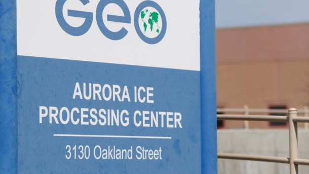 Geo Group immigrant detainment facility in aurora, colo