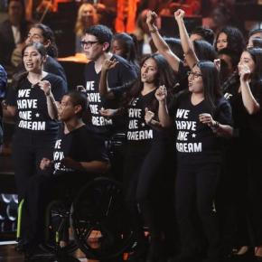 Tribute to Dreamers at Latin Grammys