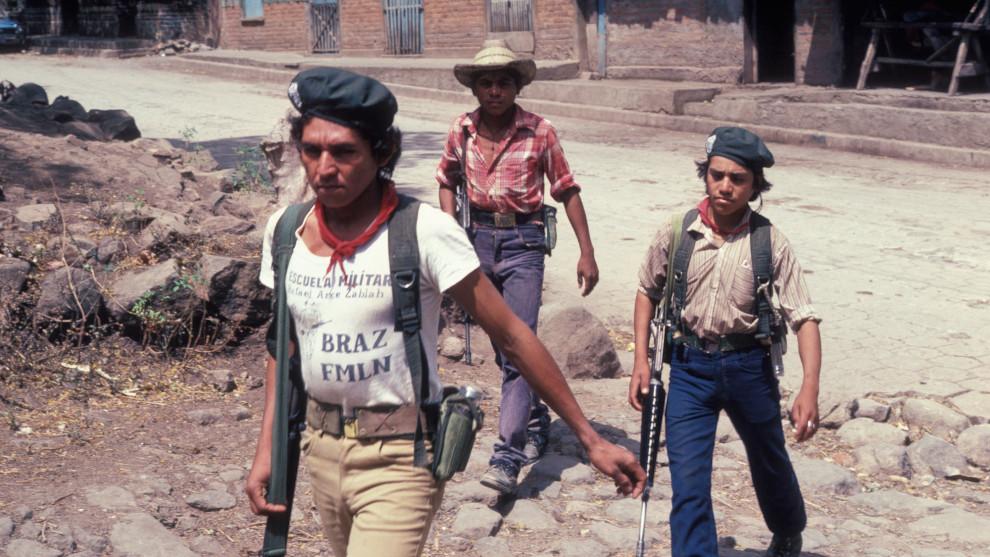 Guerrilla in El Salvador