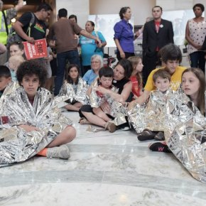 Trump's Immigration Policies Unified People of Many Faiths in a Powerful Protest on Capitol Hill Today