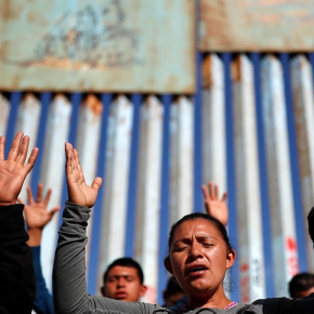 Caravan Migrants in Tijuana: God Will 'Touch the Heart of Donald Trump' and Let Us In