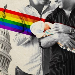 Trump Administration to LGBT Couples: Your 'Out of Wedlock' Kids Aren't Citizens
