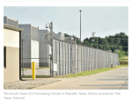 COVID-19 Cases at One Texas Immigration Detention Center Soared in a Matter of Days. Now, Town Leaders Want Answers.