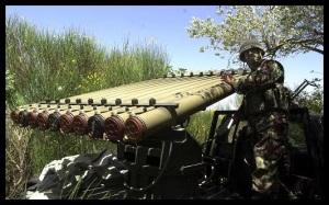 A Hezbollah Rocket Battery. (Photo: palaestinafelix.blogspot)
