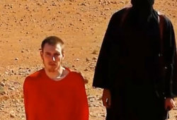 Kassig moments before his brutal death. (Photo: screenshot)