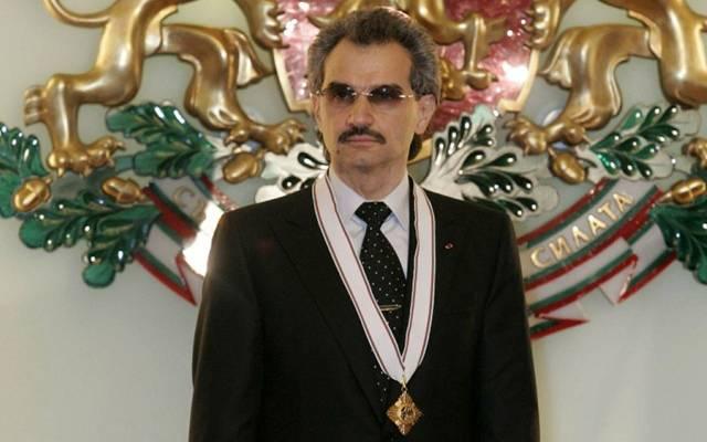 Saudi prince al-Waleed bin Talal