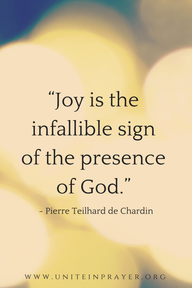 joy is the infallible sign of the presence of God pinterest.png