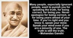 gandhi-father day-truth