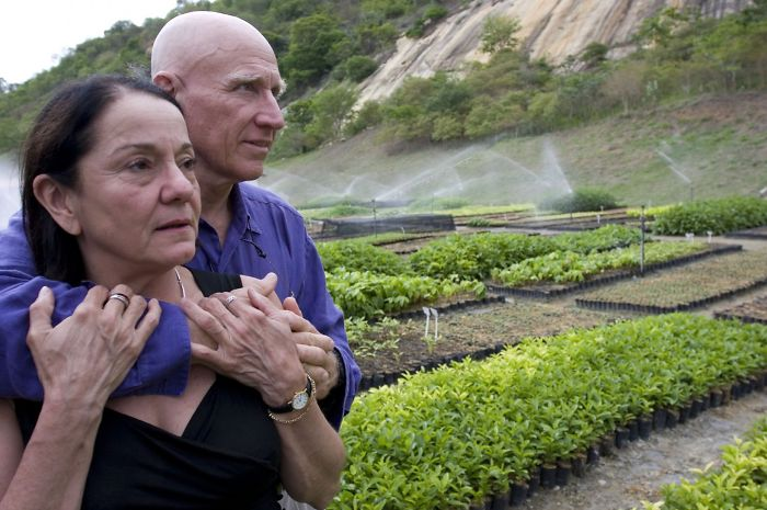 The story of a couple that planted 2 million trees