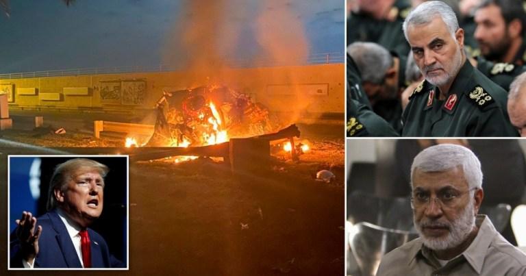 American strike kills top Iranian commander in Baghdad  Qacem Soleimani