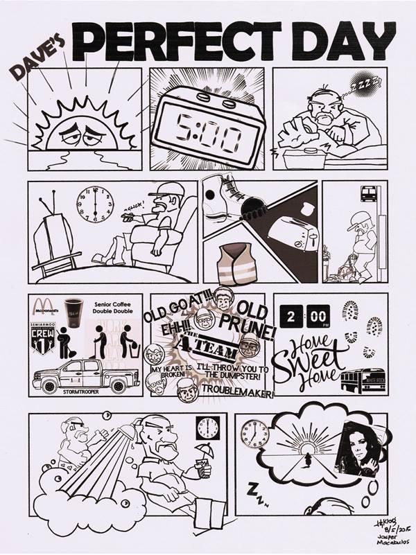 Comic strip Big Daddy D