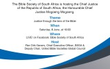 BIBLE SOCIETY SOUTH AFRICA: Invitation to every believer in Jesus Christ