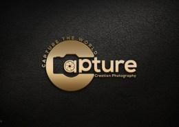 3d photography logo design