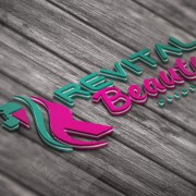 beauty care custom logo design