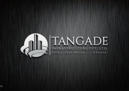 simple construction company logo