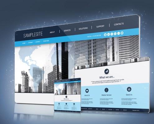 Custom website design portfolio