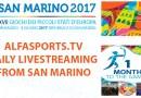 ALFASPORTS.TV travels to SAN MARINO
