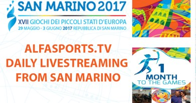 ALFASPORTS.TV travels to SAN MARINO
