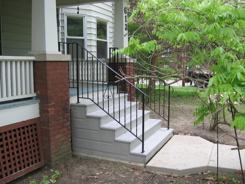 for concrete precast steps and