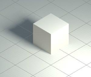 投影方法が平行投影の場合